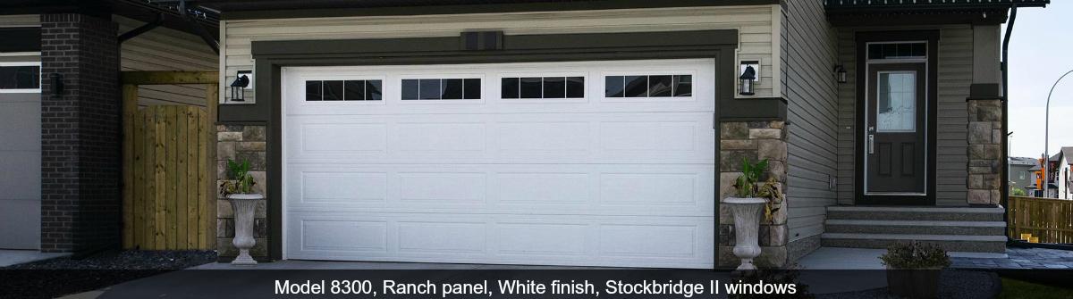 8300-8500-Steel-Garage-Door-Ranch-White-Stockbridge-II